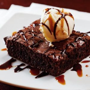 Ice cream_fudge brownie