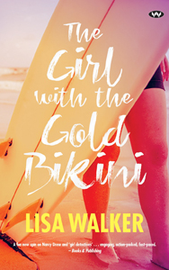 Book Cover - Girl with the Gold Bikini by Lisa Walker