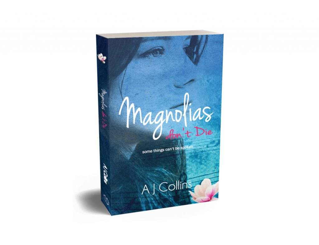 Magnolias don't Die 3D book cover