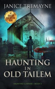 Book cover - Haunting in Old Tailem